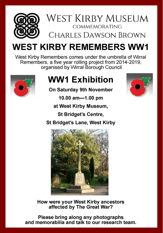 2013 Nov WW1 Exhibition poster[1574]