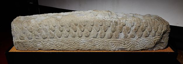 Viking HogBack Stone West Kirby Museum